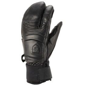 Hestra Leather Fall Line 3 Finger black